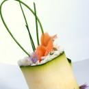 Gevulde courgettebloemen